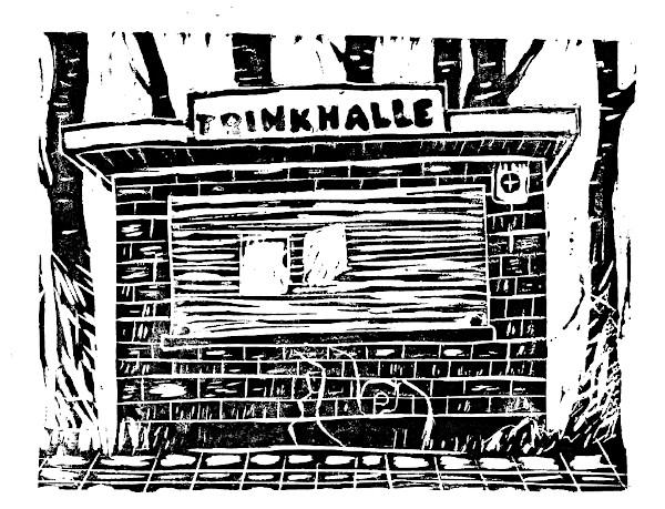 Trinkhalle schwarz
